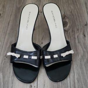 Bandolino Heels black and Ivory